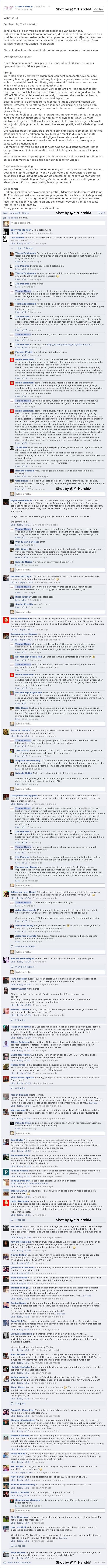 tonika vacature verkoopmedewerker facebook